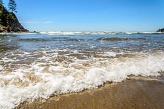 Cove Serenity (BrettLarson50) Tags: beach oregon waves unitedstates pacificocean oregoncoast pnw pacificcoast oswaldweststatepark 2015 nehalem beachweekend smugglercove
