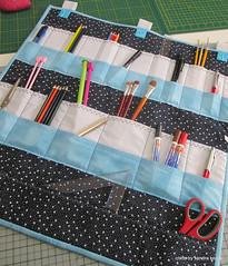 Organizador (Crafts by Sandra Kecek) Tags: handmade patchwork portatreco organizador feitoamão
