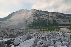 Turtle mountain Alberta Canada Site of the Frank slide disaster in 1904 (davebloggs007) Tags: mountain canada frank site turtle slide alberta disaster 1904