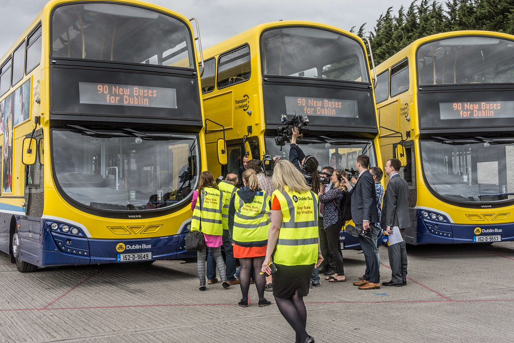 90 NEW BUSES FOR DUBLIN CITY [AUGUST 2015] REF-106975