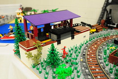VA BrickFair 2015  Train & Town Emmetsburg Junction (EDWW day_dae (esteemedhelga)) Tags: lego bricks minifigs traintown moc afol minifigures edww brickfair daydae esteemedhelga vabrickfair2015 emmetsburgjunction