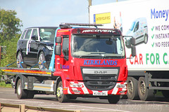 DAF LF Recovery Kirklands KL66 DKL (SR Photos Torksey) Tags: truck transport haulage hgv lorry lgv logistics road commercial vehicle freight traffic daf lf recovery kirklands