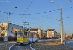 078 - 102 - 18.12.2016 (2) (VictorSZi) Tags: romania ploiesti potsdam tram tramvai tatra tatrat4kd tce winter iarna decembrie december nikon nikond3100