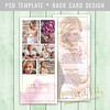 Layered Photoshop Template (daphnepopuliers) Tags: rackcard photocard marketingcard photographycard psd photoshop template photostudio photographer