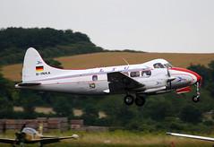 1949 de Havilland DH104 Dove 8 D-INKA - Pionier Aircraft Collection - Duxford 2016 (anorakin) Tags: dehavillanddove wb531 n531wb flyinglegends ltu gblrn 1949 de havilland dh104 dove dinka pionieraircraftcollection duxford 2016