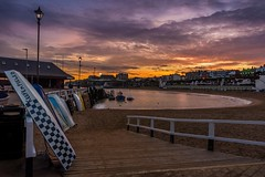 Chequered (James Waghorn) Tags: lamp broadstairs clouds d7100 slipway sunset water reflections sigma1020f456 boat winter kent harbour sea nikon england