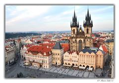 Vista de Praga (© Marco Antonio Soler ) Tags: nikon d80 jpg hdr iso vista de praga praha prague cz chequia rep checa 2017 17 viaje voyager city ciudad torre tower