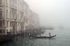 Foggy Day in Venice (njk1951) Tags: venice venezia fog nebbia gondola canal italy italia foggyday foginvenice veniceitaly heavyfog mysterious weather atmosphere