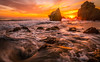 Epic Sony A7RII Malibu Beach Fine Art Landscape /Seascape Sunset! Dr. Elliot McGucken Fine Art Ocean Landscape and Nature Photography: (45SURF Hero's Odyssey Mythology Landscapes & Godde) Tags: epic sony a7rii malibu beach fine art landscape seascape sunset dr elliot mcgucken sea caves nature photography variotessar t fe 1635mm f4 za oss lens sel1635z carl zeiss