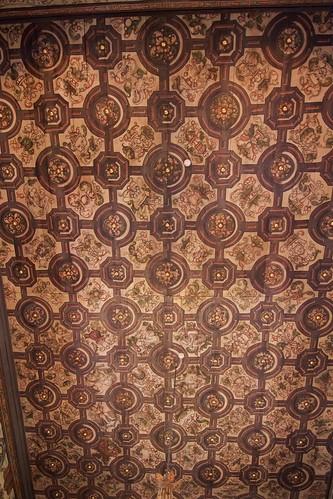 Dekoracja stropu nawy kościoła w Boguszycach