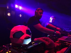 Pink Panda at The Ministry of Sound (adameaton) Tags: phone iphone flickr 2016 life night dance love club light panda pink electric dj london lads mates friends music end ministryofsound ministry