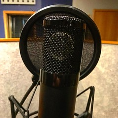 Vocalizing (Pennan_Brae) Tags: microphones mic recordingstudio music recording recordingsession vocals sing musicstudio singing microphone