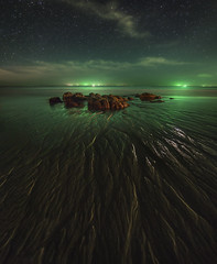 Perfect organism (MilaMai) Tags: alien astrophotography sandpatterns beach nightphotography thailand milamai landscape greenlight space scifi stars nightscapes dark bioluminescence phosphorus plankton bioluminescent