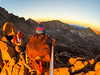 Keyhole Sunrise (Zach Dischner) Tags: 14er outdoor activity adventure backpacking colorado fun hiking backpack moutnains mountains back country high altitude extreme sunrise glow gregory gopro hi longs peak camping
