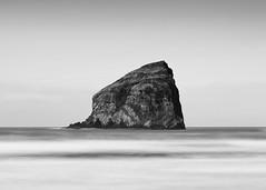 Isolated (John Westrock) Tags: blackandwhite longexposure seascape seastack ocean oregon pacificnorthwest pacificocean canoneos5dmarkiii canon135mmf2lusm bwnd1000x