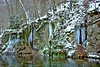 Gütersteiner Wasserfälle (wibblux) Tags: alb schwäbischealb winter badenwürttemberg ice nature rock snow weather