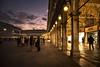 La Piazza - The Square (Explored) (Immacolata Giordano) Tags: venezia venice italia italy piazzasanmarco luci light