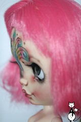 New ooak blythe FA, miss Mandala (heliantas) Tags: blythe doll customblythe ooak ooakblythe handmade mandala holi colors india