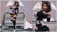 Teaser Kitty (Electraa Allen ✿ Bʟσɢɢεя ✿) Tags: ck sl catwa pretty babygirl princess neko pink kitty kitten crazykitty maitreya lilosfit slfashion slphotography slevents meshhead meshbody meshhair secondlife slavatar bento formanails
