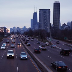 LSD Morning - Square (CamGoodVideo) Tags: chicago downtownchicago lake shore drive square edit canon5d canon5dmarkiii