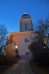 Suomenlinna church/lighthouse (JohntheFinn) Tags: majakka church kirkko winter talvi suomi eurooppa europe saari saaristo archipelago suomenlinna sveaborg helsinki finland islands castle unescoworldheritagelist architecture rakennustaide
