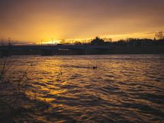 (andrewethomp) Tags: digital lookslikefilm raw ohio dayton mediumformat sharp creamy depth outdoor 28 vsco vscofilm phaseone digitalback 80mm iso50 hasselblad h1 p65 sunset river glow hasselbladhc