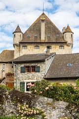 La tour d' Yvoire (S@ndrine Néel) Tags: yvoire hautesavoie néelsandrine auvergnerhônealpes