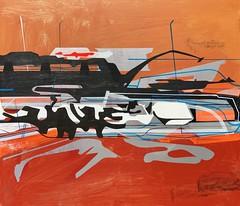 Jim Harris: Ares. (Jim Harris: Artist.) Tags: s maalaukset malerier peintures biller maalingud dipinti painting konst kunst künstler japan abstract abstractart lartabstrait jimharris museumschool