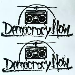 democracy now (andres musta) Tags: democracy sticker stickerart democracynow