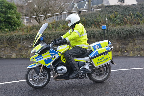 An Garda Siochana Irish Police Force 2016 BMW R1200 RT Motorbike Tracffic Corps