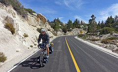 Chilly morning, long descent leaving San Pedro Martir (thedays.ofhighadventure) Tags: road parque bike san pedro baja nacional touring observatorio martir