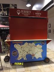 Tour Kiosk (Coco the Jerzee Busman) Tags: uk bus islands coach britain great jersey char tours channel banc