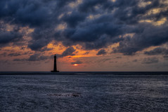 Folly Sunrise Tuesday - HDR