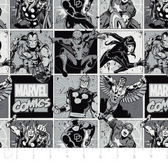 """(Camelot Cottons) Marvel Comic II, Comic Blocks In Stone • <a style=""""font-size:0.8em;"""" href=""""http://www.flickr.com/photos/132535894@N06/18579928529/"""" target=""""_blank"""">View on Flickr</a>"""