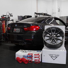 BMW M4 for Vorsteiner V-FF102 and Lowering | Boden Autohaus (Boden Autohaus) Tags: suspension orangecounty vorsteiner bodenautohaus vff102 vorsteinervff102