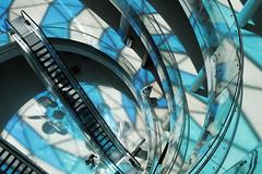 - Beaugrenelle - (Jacqueline ter Haar) Tags: light paris glass reflections faades space centre commercial transparency parijs lightness verticality sense beaugrenelle atriums