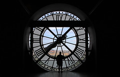 Muse d'Orsay Silhouette (L.Clark Photography) Tags: paris france clock silhouette museum musee museedorsay