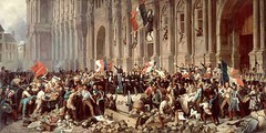 Lamartine in front of the Town Hall of Paris rejects the red flag on 25 February 1848 (Historystack) Tags: france europe politics 19thcentury 1840s revolutions february23 modernhistory louisphilippei historyoffrance revolutionof1848infrance year1848 frenchsecondrepublic revolutionsof1848