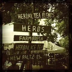 Herbs (jschumacher) Tags: nyc farmersmarket upperwestside greenmarket hipstamatic canocafenolfilm libatique73lens