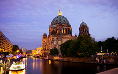 The Berliner Dom upon Spree, Berlin (Karthikeyaudupa) Tags: berlin riverside cathedral dome