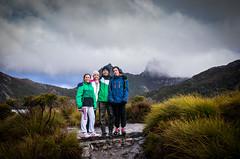My Family, Cradle Mt Tasmania (Glen Schossow) Tags: winter mountain pentax australia tasmania wilderness dovelake selfie cradlemt