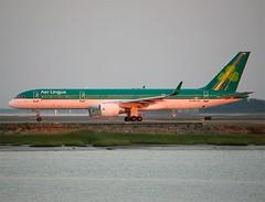 Aer Lingus (Air Contractors)                                        Boeing 757                               EI-LBS (Flame1958) Tags: dusk massachusetts loganairport boeing bos aerlingus 757 bostonloganairport 2015 boeing757 b757 0715 bostonlogan aircontractors kbos 170715 eilbs aerlingusb757 aircontractorsb757