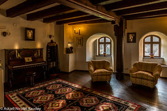 Bran Castle - Interior (Askjell's Photo) Tags: tower castle monster blood vampire ghost medieval dracula queen romania bite undead fangs ro fortress brasov vlad impaler bran middleage tepes hounted judeulbraov