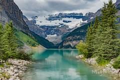 Lake Louise, Banff National Park, Canadian Rockies (miglena_grigorova) Tags: lakelouise lakeagnes columbiaicefields summer2015 banff2015