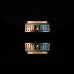 Lincoln Memorial Reflection (cjmata4) Tags: washington washingtondc night nightphotography canon canont6 lincoln usa unitedstates longexposure travel adventure explore life nightlife