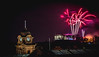 NYE (Ian Emerson) Tags: nye newyear fireworks castle nottingham midnight night outdoor landscape clock colours fire bright happy 2017