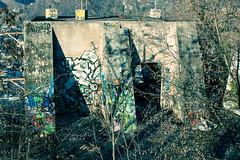 Bergstation_Virgl_BZ (david.tomasi) Tags: bolzano bozen firgl virgolo old alt vecchio building gebäude costruzzione costruzione verlassen abandoned abbandonato murales graffiti spraying seilbahn