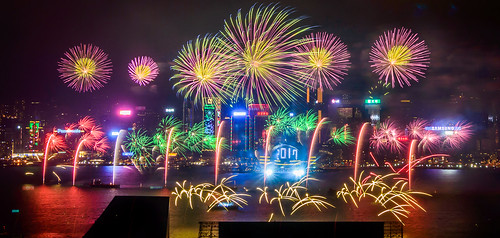 NYE in Hong Kong