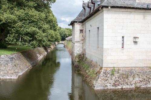 Douves du Château de Chenonceau