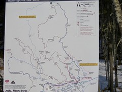 West Bragg Creek Winter Hike - Various trails - There's a lot of trails to choose from! (benlarhome) Tags: braggcreek westbraggcreek alberta canada hike hiking trek trekking trail path